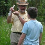 Dr Roger Key leading an insect walk