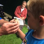 Bird-Ringing at the Wildlife Dat